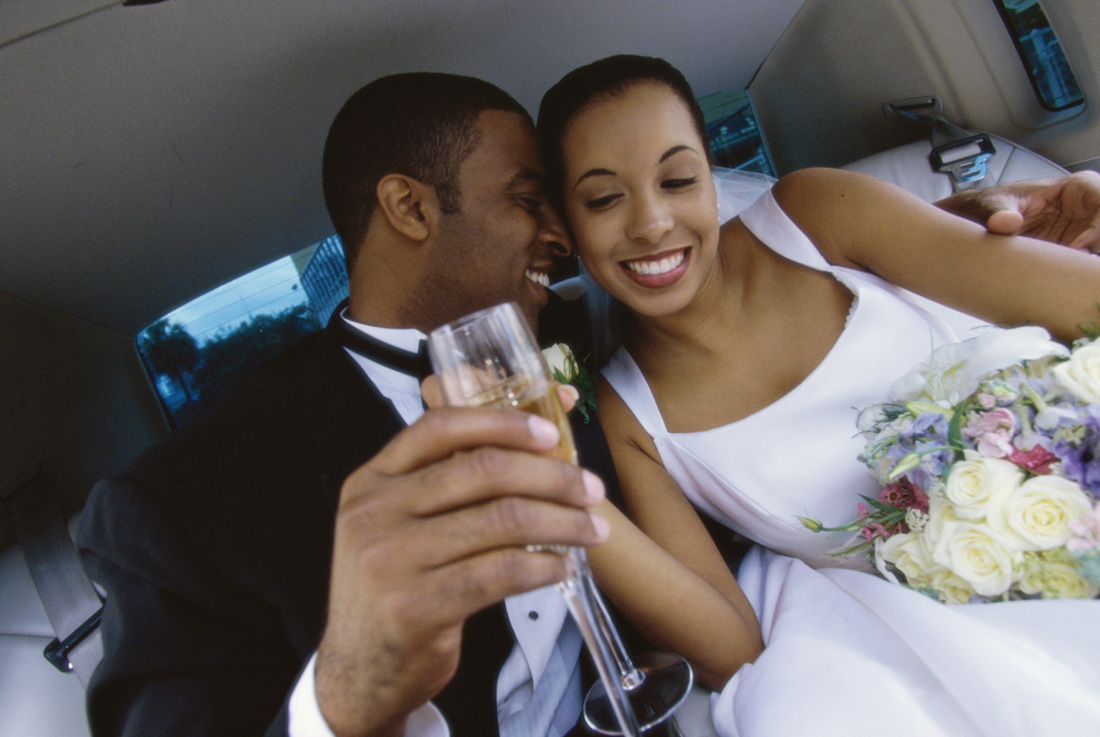 Annapolis wedding Limo