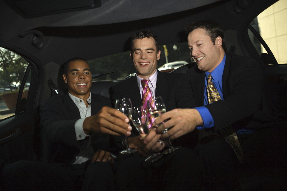 Annapolis bachelor party limousine